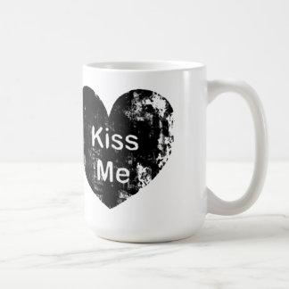 Embrassez-moi tasse de Saint-Valentin