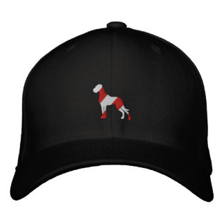 Embroidered great dane casquettes de baseball brodées