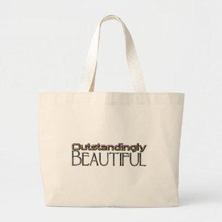 Éminemment beau sac en toile jumbo