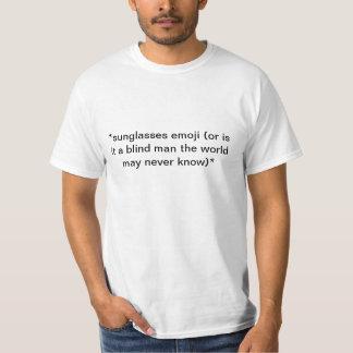 emoji de lunettes de soleil t-shirt
