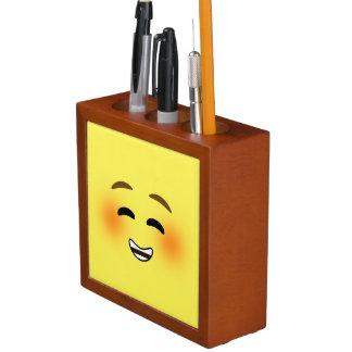 Emoji de sourire blanc