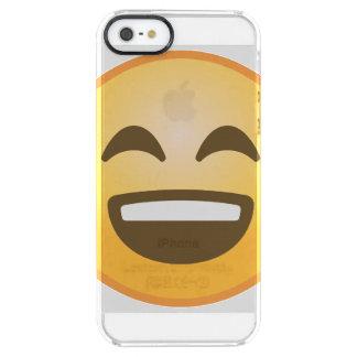 Emoji de sourire coque iPhone clear SE/5/5s