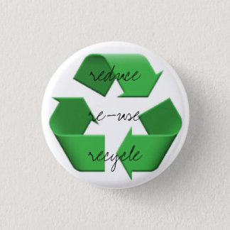 Emoji de trois r badge rond 2,50 cm
