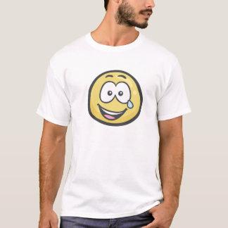 Emoji: Gezicht met Scheuren van Vreugde T Shirt