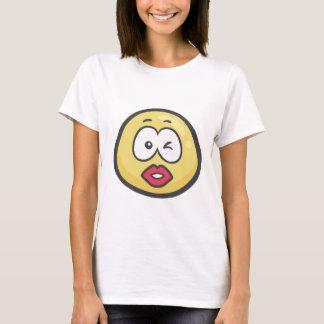 Emoji: Het kussen Gezicht T Shirt