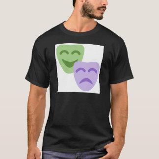Emoji Twitter - Drama Theater T Shirt