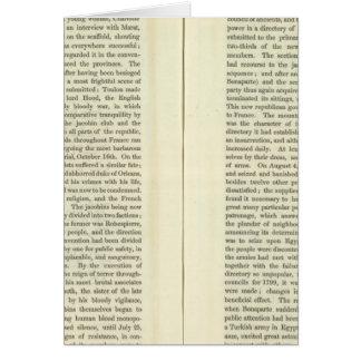 Empire de l'ANNONCE 1811 de Napoleon Bonaparte 3 Carte