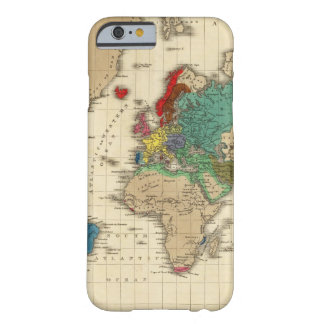 Empire de l'ANNONCE 1811 de Napoleon Bonaparte Coque Barely There iPhone 6
