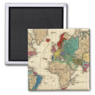 Empire de l'ANNONCE 1811 de Napoleon Bonaparte Magnet Carré