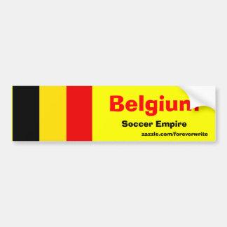 Empire du football de la Belgique Autocollant De Voiture