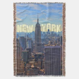 Empire State Building d'horizon de NYC, commerce Couverture