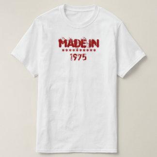 En 1975 chemise faite t-shirt