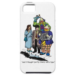 En partie Clowny Coques iPhone 5 Case-Mate