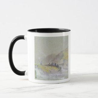 Encrassez par Dieu : Paysage de rivière avec la Mug
