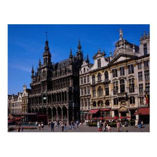 Endroit grand, Bruxelles, Belgique Carte Postale