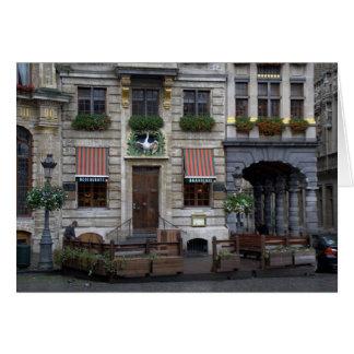 Endroit grand, Bruxelles Carte De Vœux