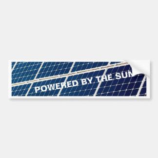 Énergie solaire autocollant de voiture