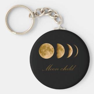 Enfant de lune porte-clés