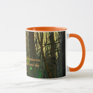 Enfant de l'univers mug