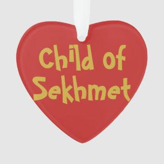 """""""Enfant ornement de 2-Ton de Sekhmet"""" (acrylique)"""