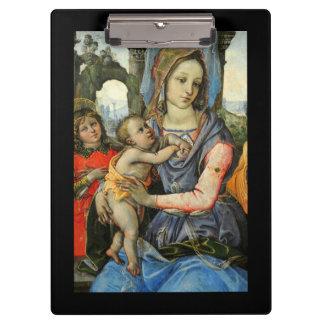 Enfant St Joseph de Madonna le Christ et ange Porte-bloc