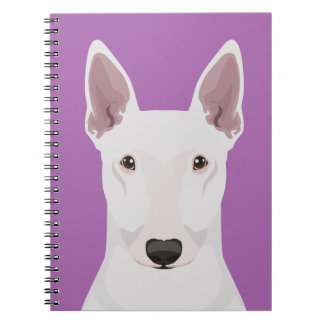 Engels Bull terrier Ringband Notitieboek