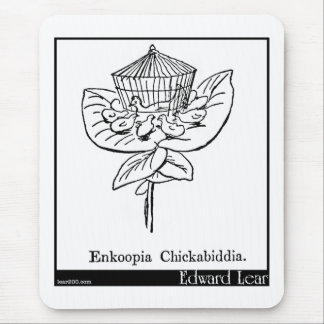 Enkoopia Chickabiddia. Tapis De Souris