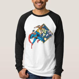 Ennemis de combats de Superman T-shirt