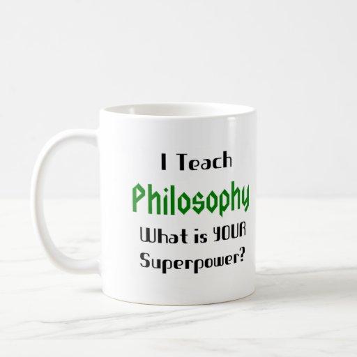 Enseignez la philosophie tasses