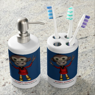 Ensemble de distributeur de support et de savon de accessoires de salle de bains