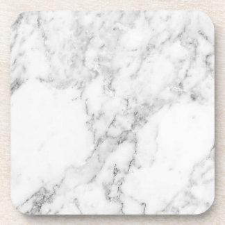 Ensemble de marbre de dessous de verre