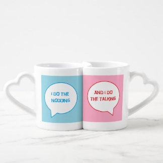 Ensemble de tasse de ménages mariés