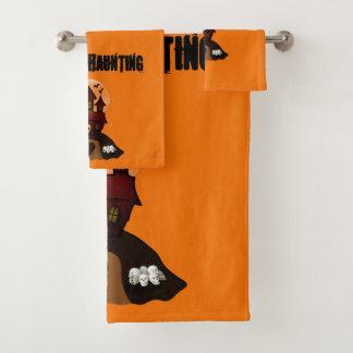 Ensemble hanté décoratif fait sur commande orange