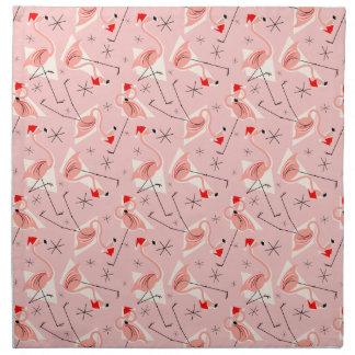 Ensemble multi rose de serviette de Santa de