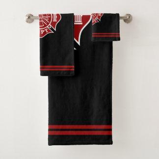 Ensembles de serviettes de Bath avec la croix