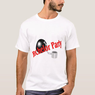Enterrement de vie de jeune garçon (boule et t-shirt
