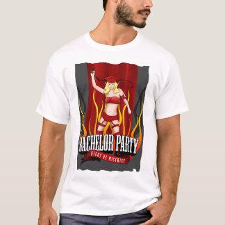 Enterrement de vie de jeune garçon - nuit du t-shirt