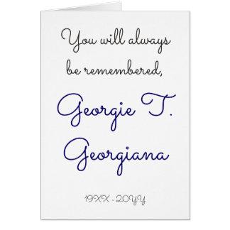 Enterrement simple et triste/carte commémorative carte de correspondance