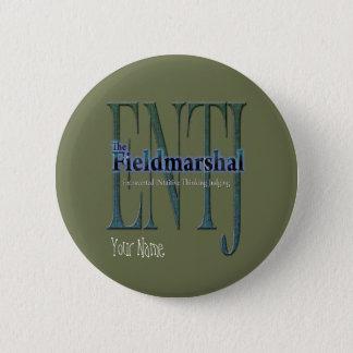 ENTJ theFieldmarshal Badge Rond 5 Cm