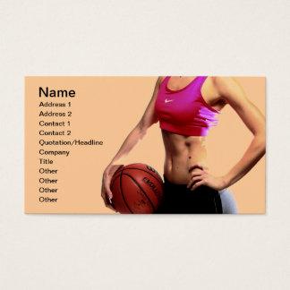 Entraîneur de basket-ball cartes de visite