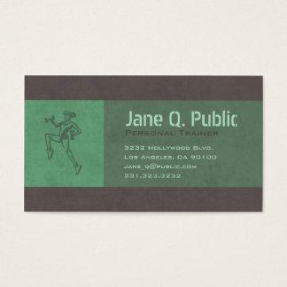 Entraîneur personnel cartes de visite