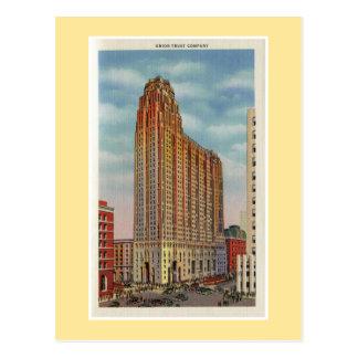 Entreprise fiduciaire vintage des syndicats de cartes postales