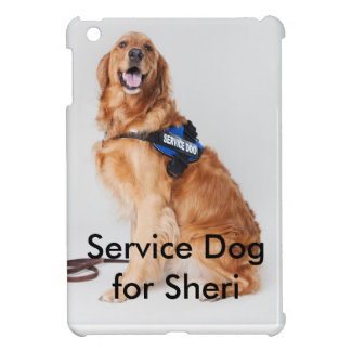 Entretenez le chien pour le cas de téléphone de coques pour iPad mini