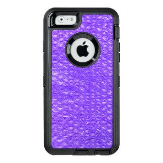 Enveloppe de bulle pourpre pétillante lumineuse de coque OtterBox iPhone 6/6s