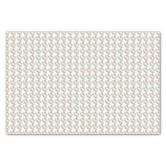 Enveloppe de papier de soie de soie de Joyeux Noël