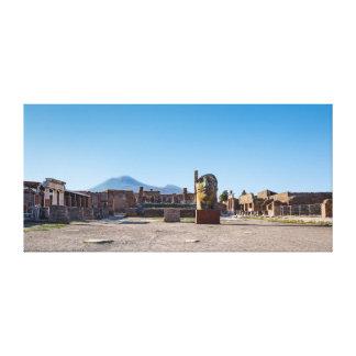 Enveloppe de toile - forum romain - Pompeii