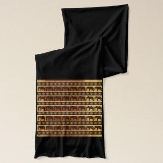 Enveloppe d'écharpe de concepteur d'éléphant écharpe