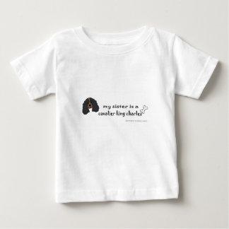 épagneul de roi Charles cavalier T-shirt Pour Bébé