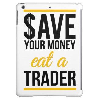 Épargnez votre argent mangent un commerçant