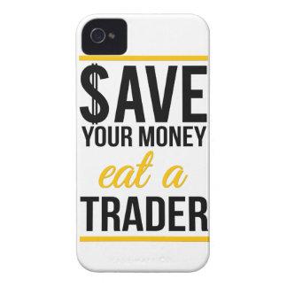 Épargnez votre argent mangent un commerçant coque iPhone 4